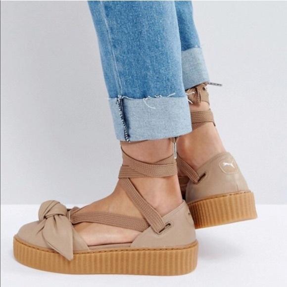 Puma Shoes - Fenty Puma Ballerina Bow Creepers